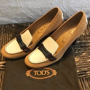 NEW Tod's Heels Size 7
